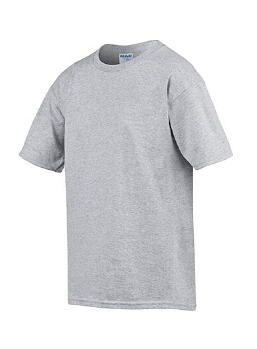 Gildan 灰色 295 短袖兒童圓領T恤 76000B 純色童裝T恤印字 活動T恤訂製 速印T恤 T恤價格