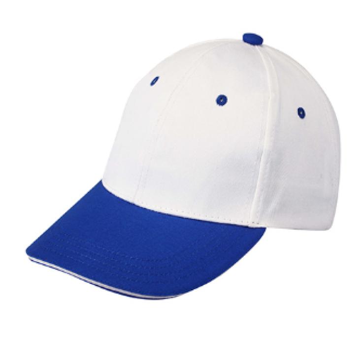1LE03 彩藍色094拼色棒球帽   來樣訂製棒球帽  棒球帽製衣廠 帽價格 棒球帽價格