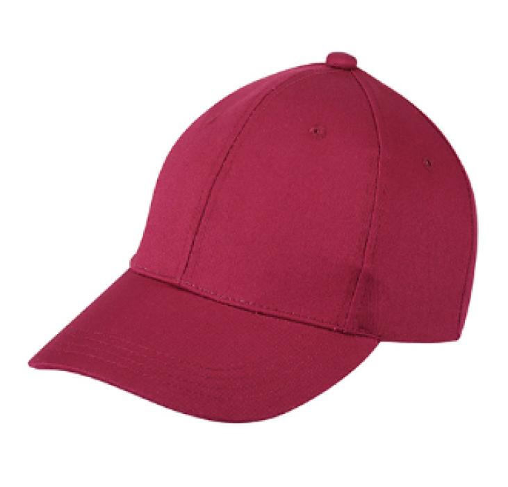 1LE05 酒紅色032棒球帽    設計訂製棒球帽  棒球帽生產商 帽價格 棒球帽價格
