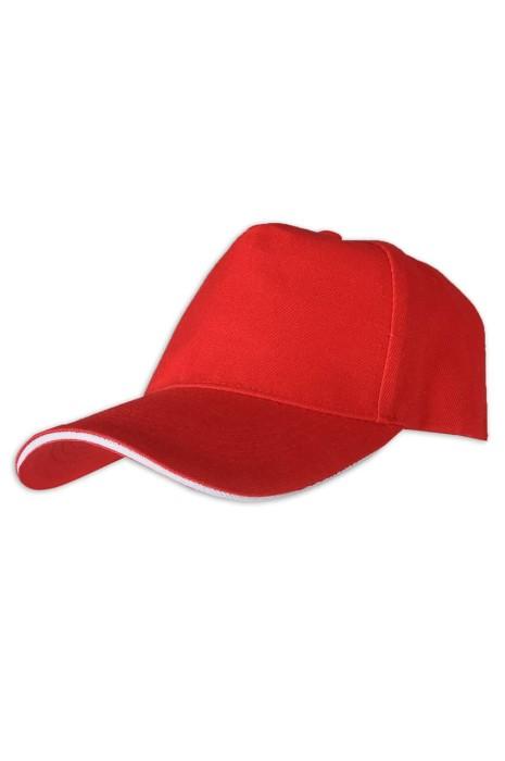 SKBC004 M02 來樣訂做棒球帽 斜紋加厚5片 帽扣 淨色 棒球帽生產商
