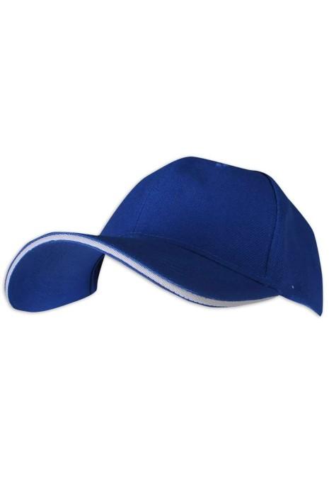 SKBC005 M01 訂做棒球帽 加厚6片 時尚三文治 斜紋 帽扣 棒球帽生產商