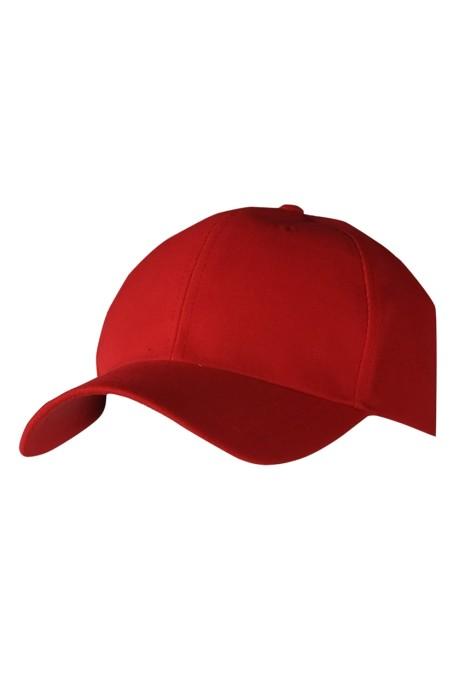 SKBC007 HD-M04 訂製棒球帽 設計六片棒球帽 棒球帽專門店  加厚斜紋淨色棒球帽 100% Acrylic