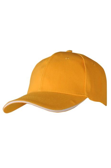 SKBC008 HD-M01  製造毛晴六片棒球帽 設計魔術貼棒球帽 棒球帽供應商 三文治加厚六片棒球帽 100% Acrylic