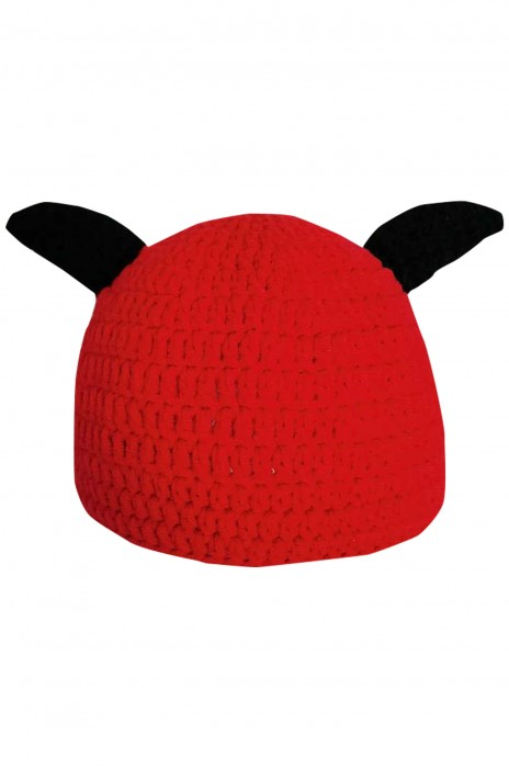 SKBC013   製造手工嬰兒寶寶卡通牛角帽   護頭帽   男女嬰兒   傳統風帽子