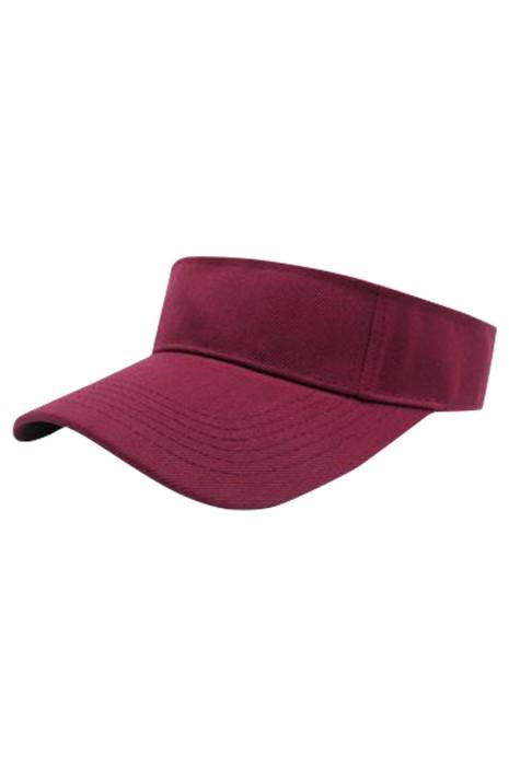 SKSH009 大量訂製太陽帽 設計空頂太陽帽 工作帽 志願者帽 網球帽 太陽帽中心