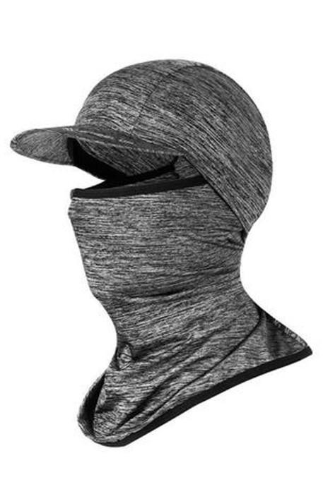 SKSH010  製造冰絲防曬行山帽  自訂護臉透氣冰絲帽  騎行 冰絲帽