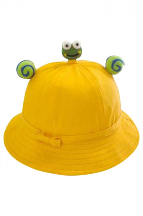 SKHA011 製造漁夫小黃帽 設計蝴蝶漁夫帽 親子遊 團體帽  漁夫帽中心