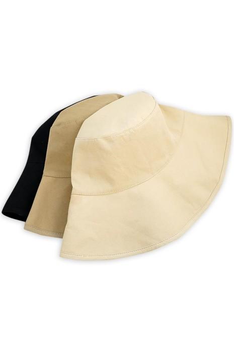 SKHA014 製造雙面漁夫帽  訂製一面淨色一面格子防曬漁夫帽 出遊 行山  雙面漁夫帽中心