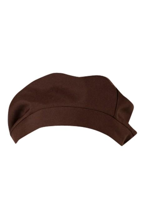 CHFH-008 訂製廚師工作帽 餐廳酒店男女服務員貝雷帽 廚房家用帽子
