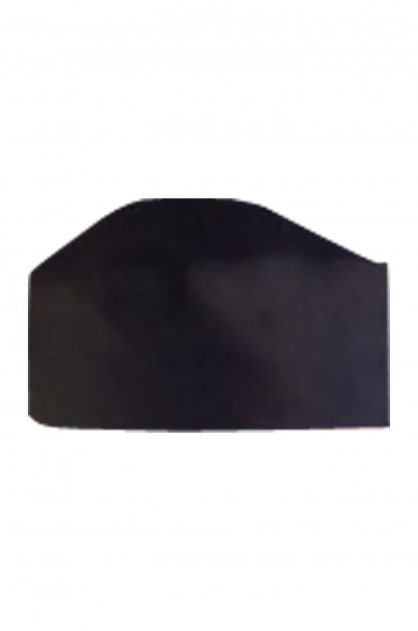 CHFH-009 訂購廚師工作帽 中西餐廳帽子 廚房防污帽 平頂帽