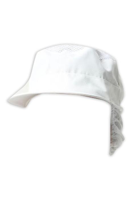 SKCH014 大量訂做食品安全帽 餐飲 食堂 設計包頭髮網帽 食品帽中心 防掉頭髮