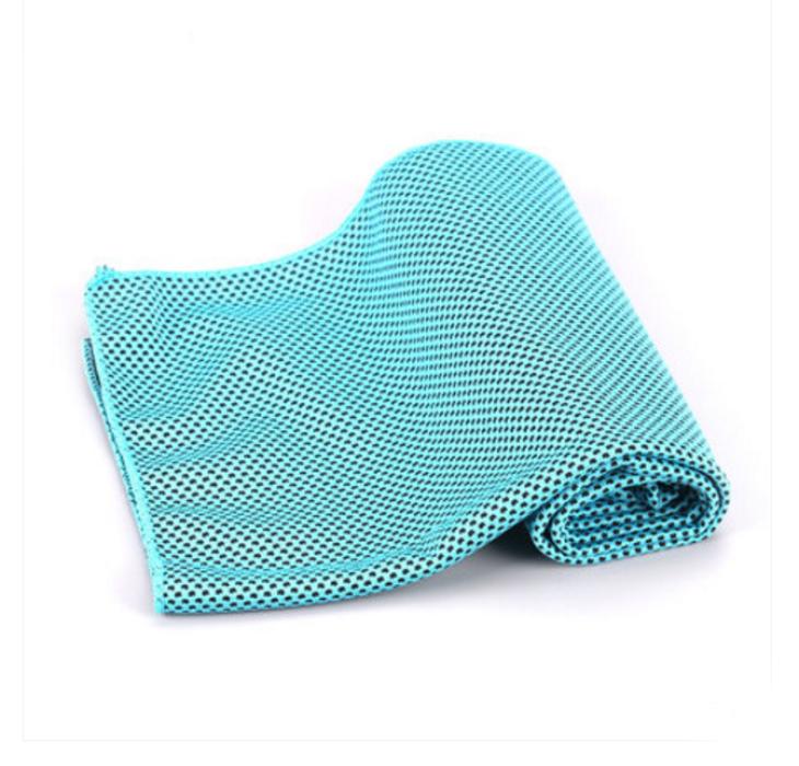 SKTW011   設計冷感運動毛巾  訂購吸汗速乾降溫冰巾 製作冰涼巾健身跑步擦汗毛巾  毛巾hk中心