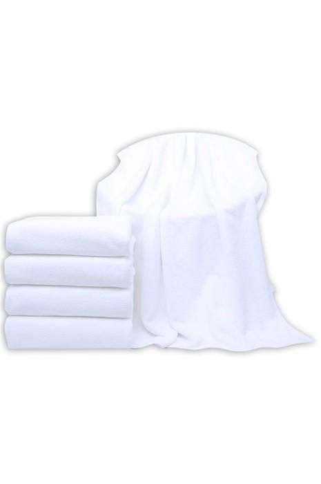 SKTI050  大量訂製酒店毛巾 製造美容院 桑拿 足浴白色毛巾 浴巾 加厚吸水 毛巾供應商 140*70cm 180*80cm