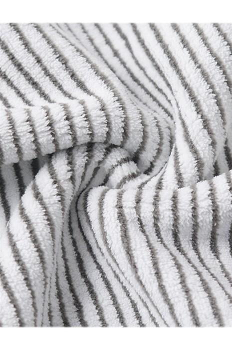 SKTI074   竹炭纖維抗菌面巾    日系條紋比純棉柔軟    吸水家用條紋   男女不掉毛毛巾    竹炭毛巾