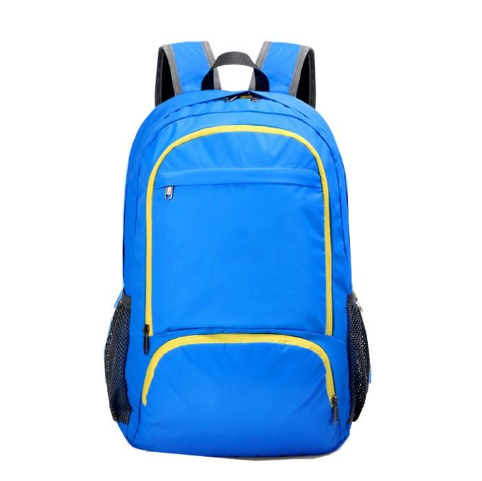 RXZDBB003  訂做尼龍雙肩包款式   製作折疊式背包款式   登山包  自訂旅遊折疊包款式  折疊背包專營