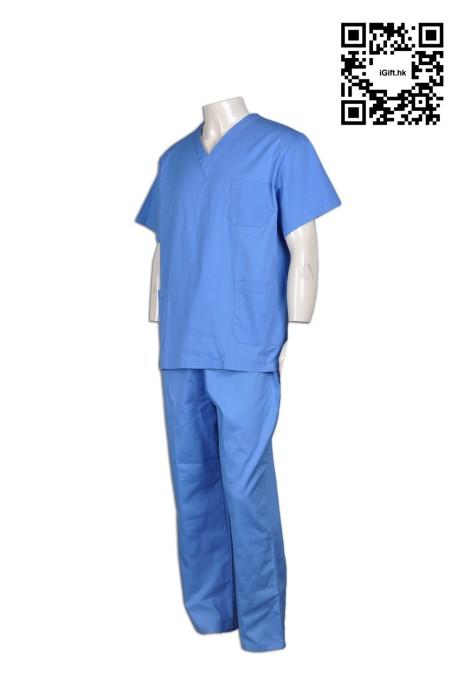 SKNU012  診所套裝制服 來樣訂製 長褲套裝診所制服 診所制服公司 診所制服供應商  舒特呢  診所制服價格 寵物美容 寵物診所  寵物醫療