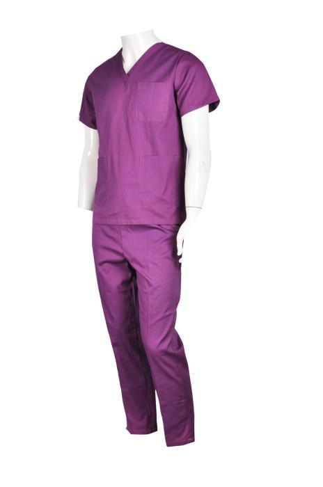 SKNU013 訂做醫生套裝制服  訂購團體診所制服  制服中心  診所制服專門店HK  舒特呢  診所制服價格 寵物美容 寵物診所  寵物醫療