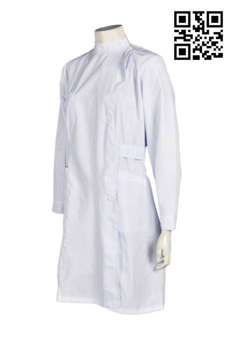 SKNU014 訂製診所護士制服  護士制服零售 護士制服旺角 診所制服價錢  醫生制服專門店  舒特呢  護士服價格