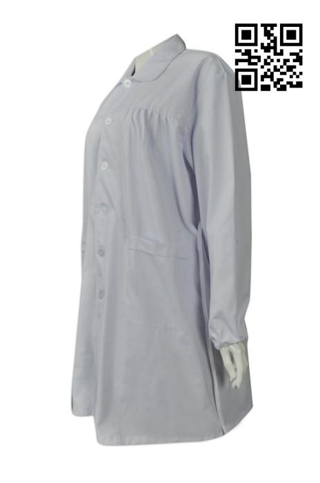 SKUN017 製作孕婦護士制服 訂購婦產醫院專用服 來樣訂造護士服 診所制服專門店  舒特呢  護士服價格