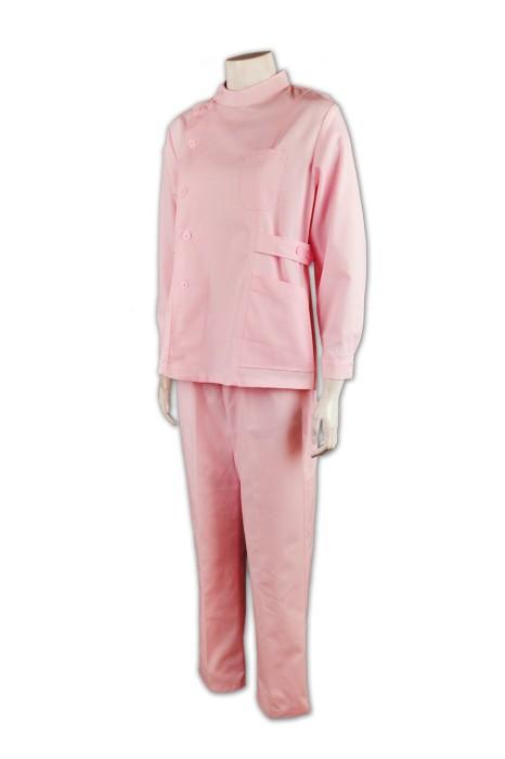 SKNU011 來版訂購診所制服   護士套裝制服 制服選擇 牙科護士 護士制服批發商  醫護衫褲 寵物美容 寵物診所  寵物醫療