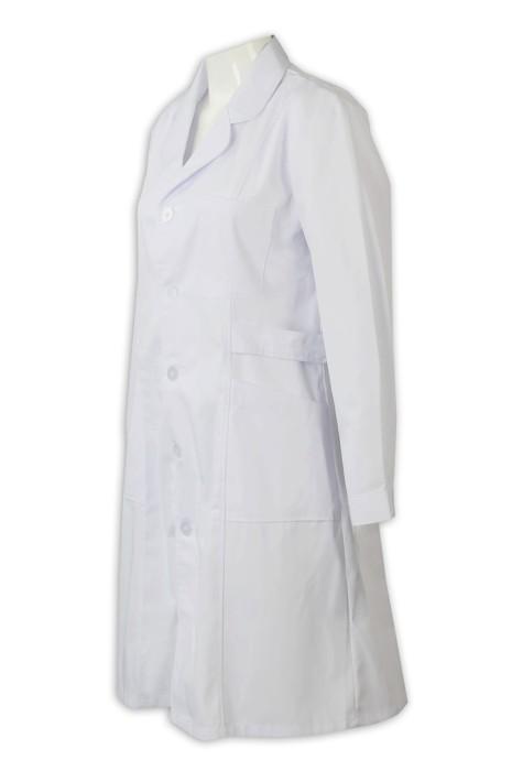 SKUN005  製作團體醫身掛袍 提供醫生裙 長身醫生裙, 醫身掛袍製造商  舒特呢  醫生裙價格