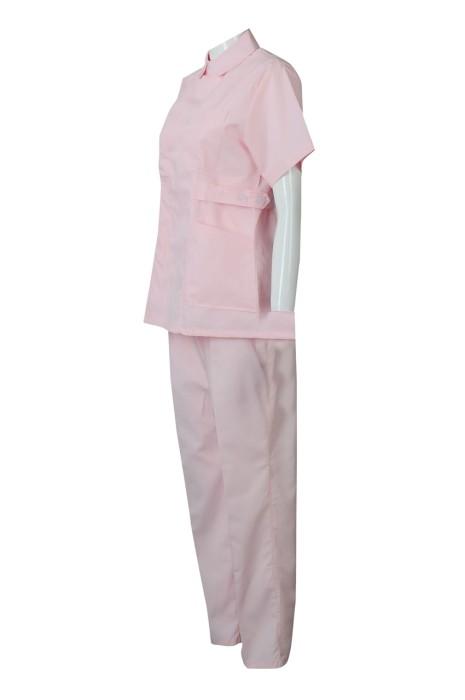 SKNU009 量身訂做診所制服  來樣訂做醫院護士服  訂購醫院套裝制服  護士服批發商HK  舒特呢  護士服價格