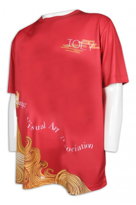 T969 製作男裝寬鬆T恤 熱昇華 娛樂 傳媒 T恤專門店