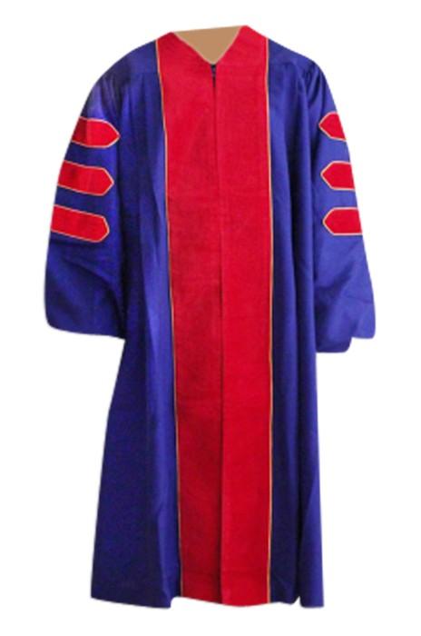 SKDA020 設計個性畢業拍照禮服 網上下單畢業袍  大量訂造畢業禮服 畢業袍製造商