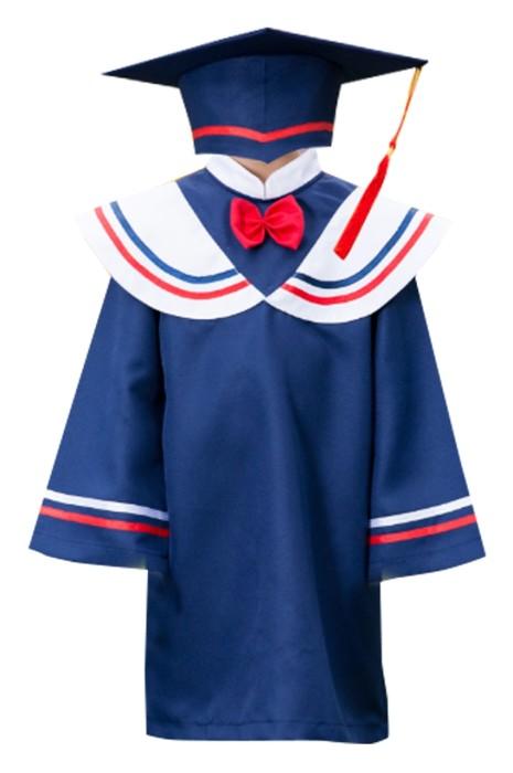 SKDA022 製造立領學院風畢業袍  設計斗篷式畢業袍 畢業袍供應商  兒童畢業袍 小學畢業袍 中學畢業袍