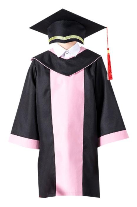 SKDA024 訂製畢業袍  設計後背魔術貼 博士帽鬆緊彈力帶  畢業袍供應商 兒童畢業袍 小學畢業袍 中學畢業袍