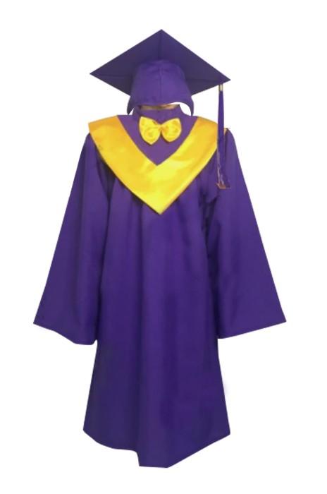 SKDA021 訂製畢業袍 設計兒童 小學 中學 博士畢業袍 畢業袍供應商