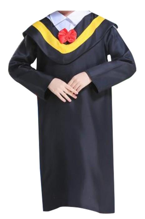 SKDA029 製造小學中學畢業袍 設計長袖畢業袍 畢業袍中心