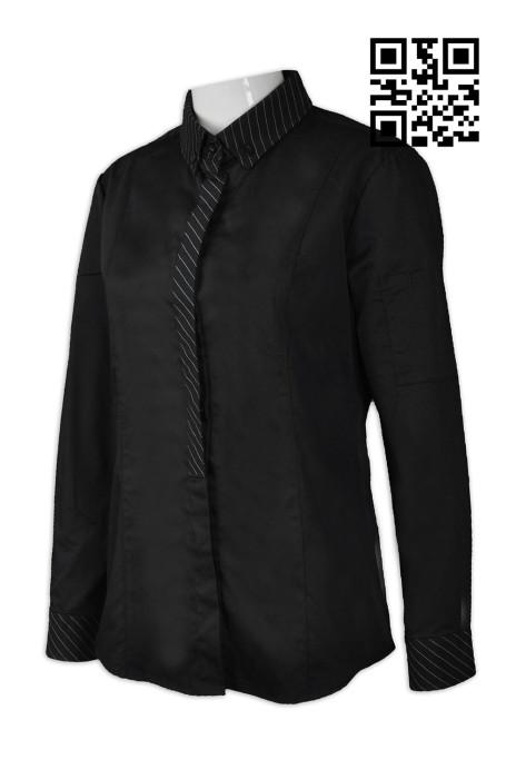 SKKI025 設計度身廚師服款式  訂造女裝廚師服款式  自訂廚師服款式  廚師服中心  廚師制服價格