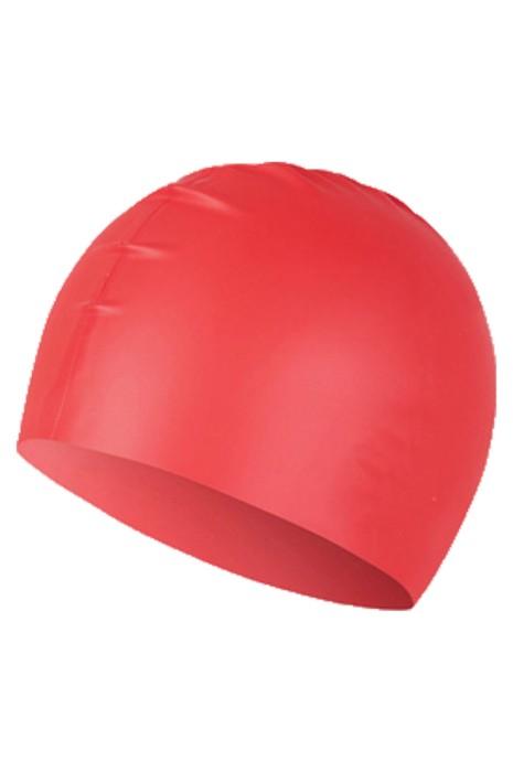 SKAH006 製造游泳帽 設計防水矽膠皮泳帽  泳帽中心