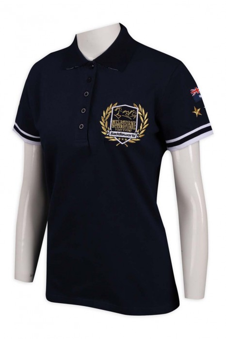 P1058 設計女裝修腰制服 5粒鈕  94%棉 4%spandex  澳洲 TFS Polo恤製造商