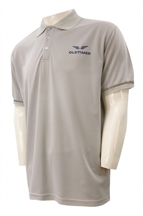 獨家訂做Polo恤   訂製扁機領Polo恤   制服行業   阿聯酋   P1343