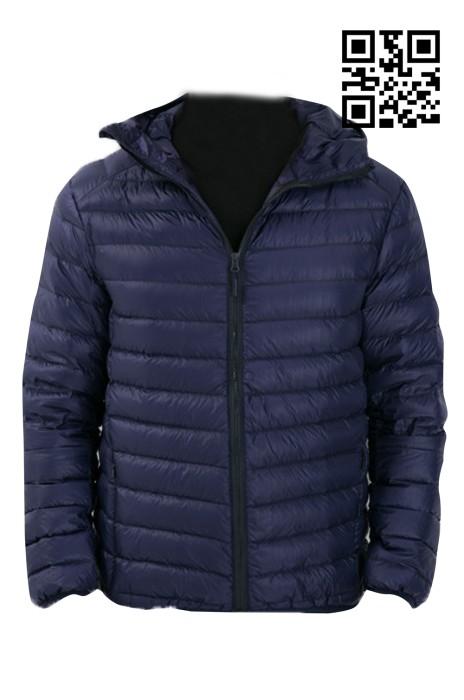 VM002 訂造加厚羽絨服  設計淨色羽絨服  供應時尚羽絨服 羽絨服製造商  羽絨服價格