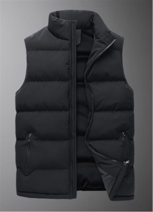 SKVM005     訂造冬季新款棉馬甲   男韓版休閒寬鬆學生外套   時尚潮流馬甲男 冬天 寒冬 送暖