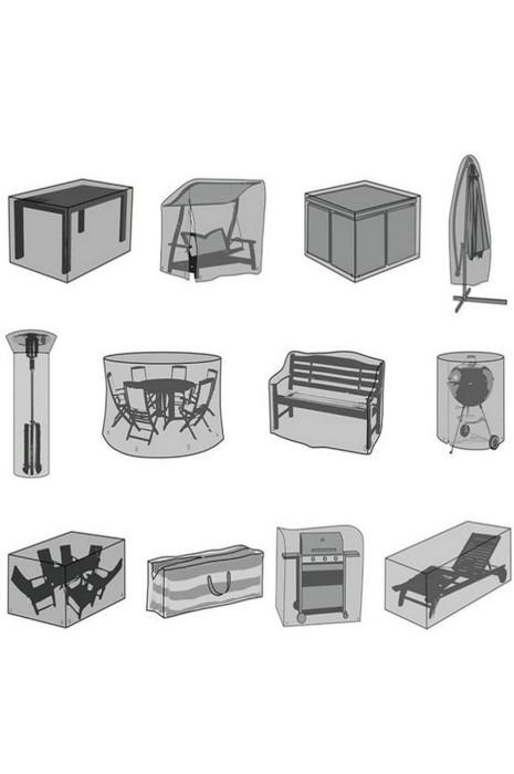 SCB012   訂制戶外大型公仔防塵罩   定制戶外傢俱防塵罩子   傘桌椅防雨遮陽灰防曬沙發套    訂做設備防水布