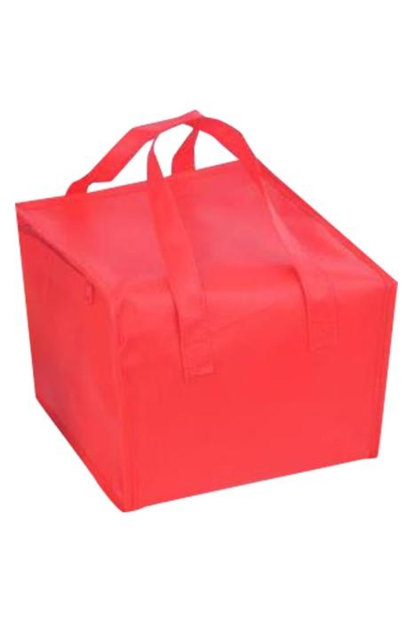 SKEPB014 製造手提保溫袋 冷藏袋  設計拉鏈款式 鋁箔內膽  海鮮 火鍋 燒烤 蛋糕 盆菜 披薩 外賣員 無紡布保溫冷藏環保袋