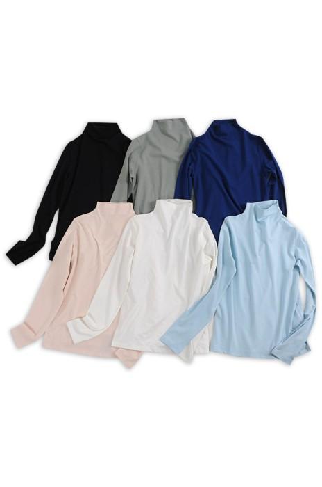 SKSW026  訂造樽領衫   度身訂造親子半高領樽領打底衫   供應親子裝純色毛衣 毛衣供應商
