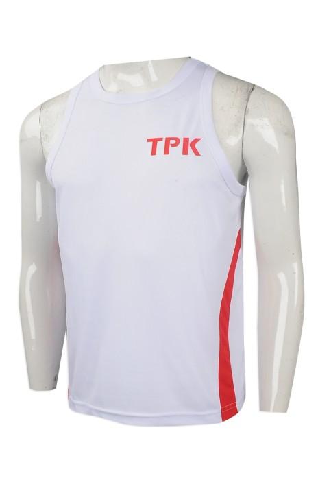 VT209 設計度身背心T恤款式   製作團體背心T恤款式    自訂男裝背心T恤款式   背心T恤中心