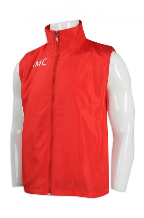 V190 訂做男裝背心外套 背心外套供應商