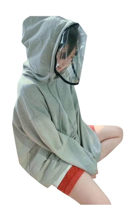 Z500  訂做可拆洗防飛沫面罩  製造淨色衛衣無鴨舌版  阻隔 病毒 細菌