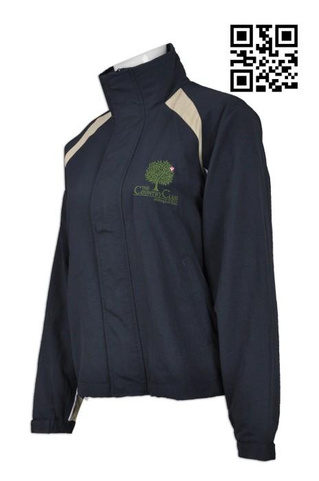 J651 製作度身風衣外套款式    自訂LOGO風衣款式  物業管理制服 會所風褸制服   訂造男裝風衣外套款式   風褸製造商