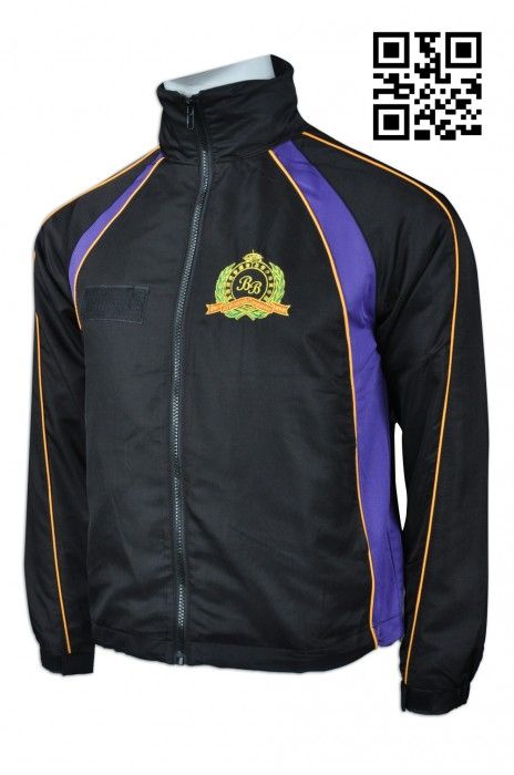 J661 訂造輕薄風褸外套  網上下單風褸 少年軍51分隊 Varsity jacket 來樣訂造風褸 風褸製造商