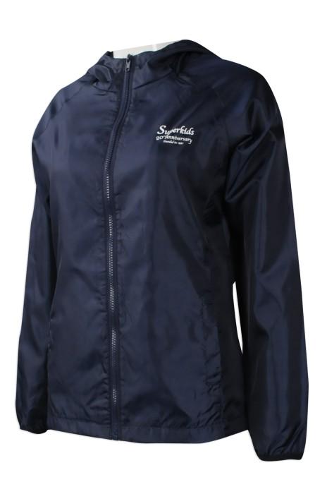 J763 度身訂做風褸外套 來樣訂做風褸外套款式 週年 紀念 外場制服 活動 製造風褸外套製衣廠