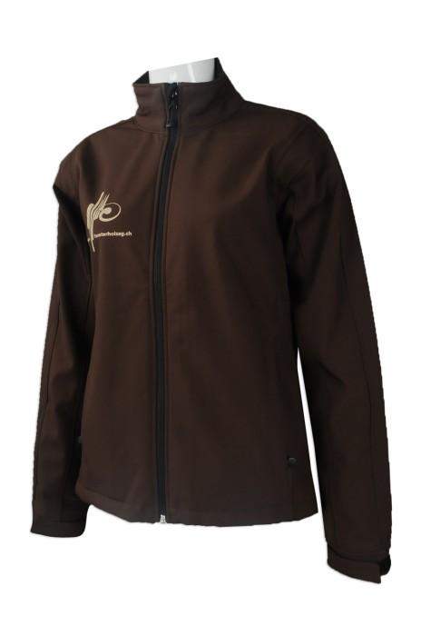 J771 來樣訂做女裝風褸外套 網上下單風褸外套款式工業3.0 德國模具工業制服  2合1 3合1 複合外套 設計風褸外套供應商