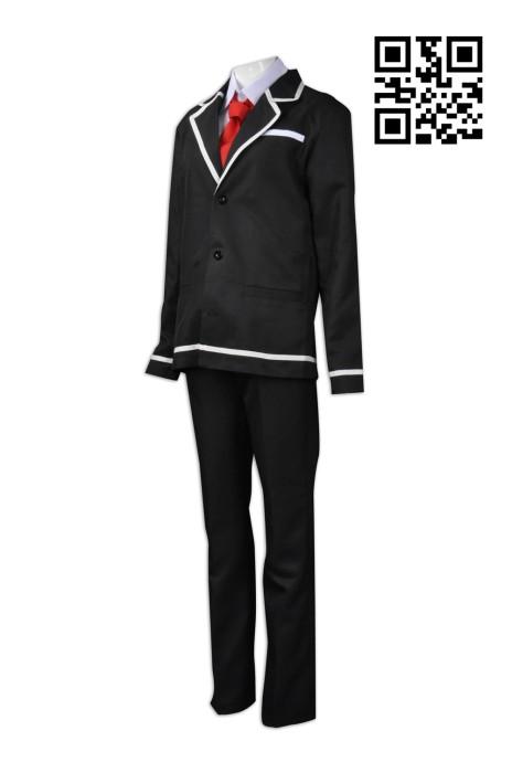 CP005 製作日本高校cosplay校服  供應日系西裝校服   大量訂造cosplay  cosplay製衣廠