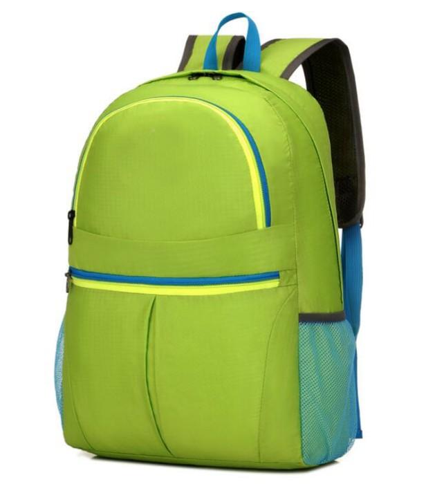 FB005 訂製度身折疊包款式   自訂時尚折疊包款式  運動背包 可收縮背囊 輕便 收縮袋 收納背包 製作旅行折疊包款式   折疊包生產商